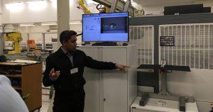 Digital manufacturing on a shoestring demos