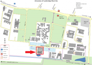 Map of the IfM location
